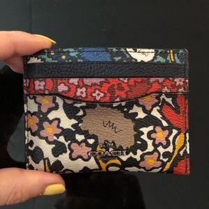 Coach card case